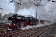 Einfahrt Dresden Hbf am frühen Morgen. Foto: J. Ullmann / UnterDampfPictures